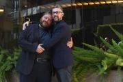 Foto/IPP/Gioia Botteghi 27/09/2016 Roma presentazione del film Al posto tuo, nella foto: Stefano Fresi con il regista Max Croci