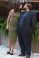 Foto/IPP/Gioia Botteghi 27/09/2016 Roma presentazione del film Al posto tuo, nella foto:  Ambra Angiolini con Stefano Fresi