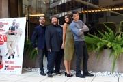 Foto/IPP/Gioia Botteghi 27/09/2016 Roma presentazione del film Al posto tuo, nella foto:  il regista Max Croci con il cast dei protagonisti