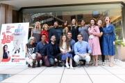Foto/IPP/Gioia Botteghi 27/09/2016 Roma presentazione del film Al posto tuo, nella foto:  il regista Max Croci con il cast
