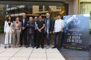 Foto/IPP/Gioia Botteghi 29/09/2016 Roma presentazione del film La verità sta in cielo, nella foto cast
