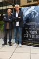 Foto/IPP/Gioia Botteghi 29/09/2016 Roma presentazione del film La verità sta in cielo, nella foto il regista Roberto Faenza con il vero fratello (Pietro) di Manuela Orlandi