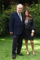 Foto/IPP/Gioia Botteghi 03/10/2016 Roma presentazione in rai del nuovo programma di Santoro ITALIA, nella foto Michele Santoro con il direttore di raidue Ilaria Dallatana