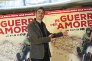 Foto/IPP/Gioia Botteghi 12/10/2016 Roma presentazione del film in guerra per amore, nella foto:    Pif