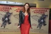 Foto/IPP/Gioia Botteghi 12/10/2016 Roma presentazione del film in guerra per amore, nella foto:   Miriam Leone