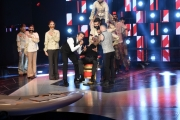 Foto/IPP/Gioia Botteghi 15/10/2016 Roma prima puntata del programma di  rai uno 10 cose, nella foto i conduttori Flavio Insinna e Federico Russo