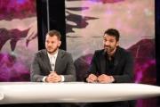 Foto/IPP/Gioia Botteghi 15/10/2016 Roma prima puntata del programma di  rai uno 10 cose, nella foto  ospiti Buffon, Cattelan