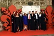 Foto/IPP/Gioia Botteghi 14/10/2016 Firenze presentazione della fiction di rai uno I Medici, red carpet,  nella foto cast e produzione