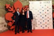 Foto/IPP/Gioia Botteghi 14/10/2016 Firenze presentazione della fiction di rai uno I Medici, red carpet,  nella foto Richard Madden, Eleonora Andreatta Luca Bernabei
