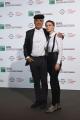 Foto/IPP/Gioia Botteghi 21/10/2016 Roma Festa del cinema di Roma, Film 7 minuti, nella foto: Michele Placido con la moglie produttrice Federica Vincenti