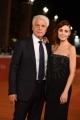 Foto/IPP/Gioia Botteghi 21/10/2016 Roma Festa del cinema di Roma  Red carpet, nella foto:   Michele Placido con la moglie Federica Vincenti