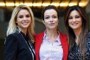 Foto/IPP/Gioia Botteghi 28/10/2016 Roma presentazione del film NON SI RUBA A CASA DEI LADRI, nella foto: Stefania Rocca, Manuela Arcuri, Ria Antoniou