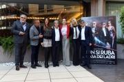 Foto/IPP/Gioia Botteghi 28/10/2016 Roma presentazione del film NON SI RUBA A CASA DEI LADRI, nella foto: Cast