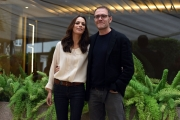 Foto/IPP/Gioia Botteghi 07/11/2016 Roma presentazione delfilm FAI BEI SOGNI, nella foto:   Valerio Mastandrea e Berenice Bejo