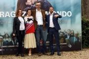 Foto/IPP/Gioia Botteghi 08/11/2016 Roma presentazione del film LA RAGAZZA DEL MONDO, nella foto:  MARCO DANIELI regista  con SARA SERRAIOCCO, MICHELE RIONDINO,  STEFANIA MONTORSI