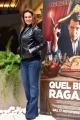 Foto/IPP/Gioia Botteghi 14/11/2016 Roma presentazione del film QUEL BRAVO RAGAZZO, nella foto: Barbara Bacci