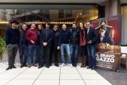 Foto/IPP/Gioia Botteghi 14/11/2016 Roma presentazione del film QUEL BRAVO RAGAZZO, nella foto:  Cast