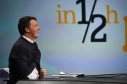 Foto/IPP/Gioia Botteghi 20/11/2016 Roma Annunziata_Renzi_Landini trasmissione In mezz'ora rai tre