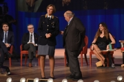 Foto/IPP/Gioia Botteghi 23/11/2016 Roma  puntata del Costanzo Show nella foto con la polizia