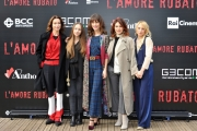 Foto/IPP/Gioia Botteghi 24/11/2016 Roma  presentazione del film L'amore rubato, nella foto il cast femminile