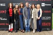 Foto/IPP/Gioia Botteghi 24/11/2016 Roma  presentazione del film L'amore rubato, nella foto il cast femminile con il regista Irish Braschi