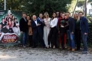 Foto/IPP/Gioia Botteghi 29/11/2016 Roma  presentazione del film Un Natale al sud, nella foto : il cast