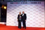Foto/IPP/Gioia Botteghi 07/12/2016 Roma  primo red carpet della manifestazione Roma Fiction Fest, nella foto: Piera Detassis con Giuseppe Piccioni Direttore Artistico