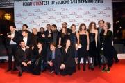 Foto/IPP/Gioia Botteghi 07/12/2016 Roma  primo red carpet della manifestazione Roma Fiction Fest, nella foto: il regista Luca Manfredi ed il cast della serie IN ARTE NINO