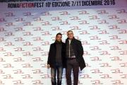 Foto/IPP/Gioia Botteghi 07/12/2016 Roma  primo red carpet della manifestazione Roma Fiction Fest, nella foto: il regista Luca Manfredi con Elio Germano