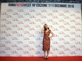 Foto/IPP/Gioia Botteghi 09/12/2016 Roma terzo red carpet della manifestazione Roma Fiction Fest, nella foto:   Matilda De Angelis