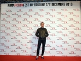 Foto/IPP/Gioia Botteghi 10/12/2016 Roma quarto red carpet della manifestazione Roma Fiction Fest, nella foto: fiction  Public Enemy con Angelo Bison