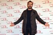 Foto/IPP/Gioia Botteghi 10/12/2016 Roma quarto red carpet della manifestazione Roma Fiction Fest, nella foto: Marco Giallini con Piera Detassis
