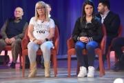 Foto/IPP/Gioia Botteghi 12/05/2016 Roma seconda puntata della nuova serie del maurizio Costanzo Show, nella foto: Domenica Loffredo (genitori della piccola Fortuna, abusata e uccisa a soli 6 anni) più la nonna