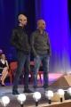 Foto/IPP/Gioia Botteghi 12/05/2016 Roma seconda puntata della nuova serie del maurizio Costanzo Show, nella foto: i comici Gigi e Ross