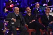 Foto/IPP/Gioia Botteghi 12/05/2016 Roma seconda puntata della nuova serie del maurizio Costanzo Show, nella foto Gigi D'Alessio e Raoul Bova