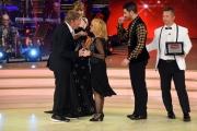 Foto/IPP/Gioia Botteghi 23/04/2016 Roma finale di ballando con le stelle, Rita Pavone con Simone Di Pasquale premiata da Mayer
