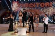 Foto/IPP/Gioia Botteghi 23/04/2016 Roma finale di ballando con le stelle, Iago Garcia e Samanta Togni i vincitori con Milly Carlucci