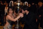 Foto/IPP/Gioia Botteghi 23/04/2016 Roma finale di ballando con le stelle, Iago Garcia e Samanta Togni i vincitori