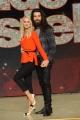 Foto/IPP/Gioia Botteghi 18/02/2016 Roma presentazione della undicesima edizione di Ballando con le stelle, nella foto Luca Sguazzini e Vera Kinnunen