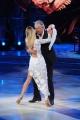 Foto/IPP/Gioia Botteghi 20/02/2016 Roma Ballando con le stelle puntata, nella foto: Lando Buzzanca e Sara Mardegan