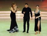 Foto/IPP/Gioia Botteghi 27/02/2016 Roma seconda puntata di Ballando con le stelle, nella foto Milly Carlucci e Alessandro Del Piero con Roberta Beccarini