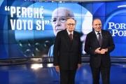 Foto/IPP/Gioia Botteghi 21/11/2016 Roma Puntata di Porta a porta con Napolitano