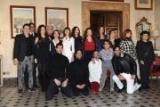 Foto/IPP/Gioia Botteghi 10/01/2017 Roma presentazione della fiction di canale 5, IL BELLO DELLE DONNE4, nella foto:    cast e maestranze