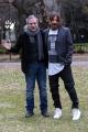 Foto/IPP/Gioia Botteghi 23/01/2017 Roma presentazione del film ho amici in paradiso, nella foto  Christian Iansante e Fabrizio Ferracane