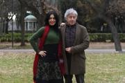 Foto/IPP/Gioia Botteghi 23/01/2017 Roma presentazione del film ho amici in paradiso, nella foto Emanuela Garuccio, Antonio Catania