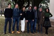 Foto/IPP/Gioia Botteghi 23/01/2017 Roma presentazione del film ho amici in paradiso, nella foto  cast