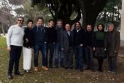Foto/IPP/Gioia Botteghi 23/01/2017 Roma presentazione del film ho amici in paradiso, nella foto  cast e maestranze