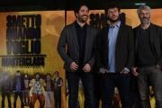Foto/IPP/Gioia Botteghi 24/01/2017 Roma presentazione del film Smetto quando voglio Masterclass, nella foto: il regista Sydney Sibilia con Domenico Procacci e Matteo Rovere