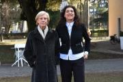 Foto/IPP/Gioia Botteghi 25/01/2017 Roma presentazione del film documentario Femminismo, nella foto la regista Paola Columba e Lidia Ravera
