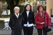 Foto/IPP/Gioia Botteghi 25/01/2017 Roma presentazione del film documentario Femminismo, nella foto la regista Paola Columba e Maria Rosa Cutrufelli e Lidia Ravera